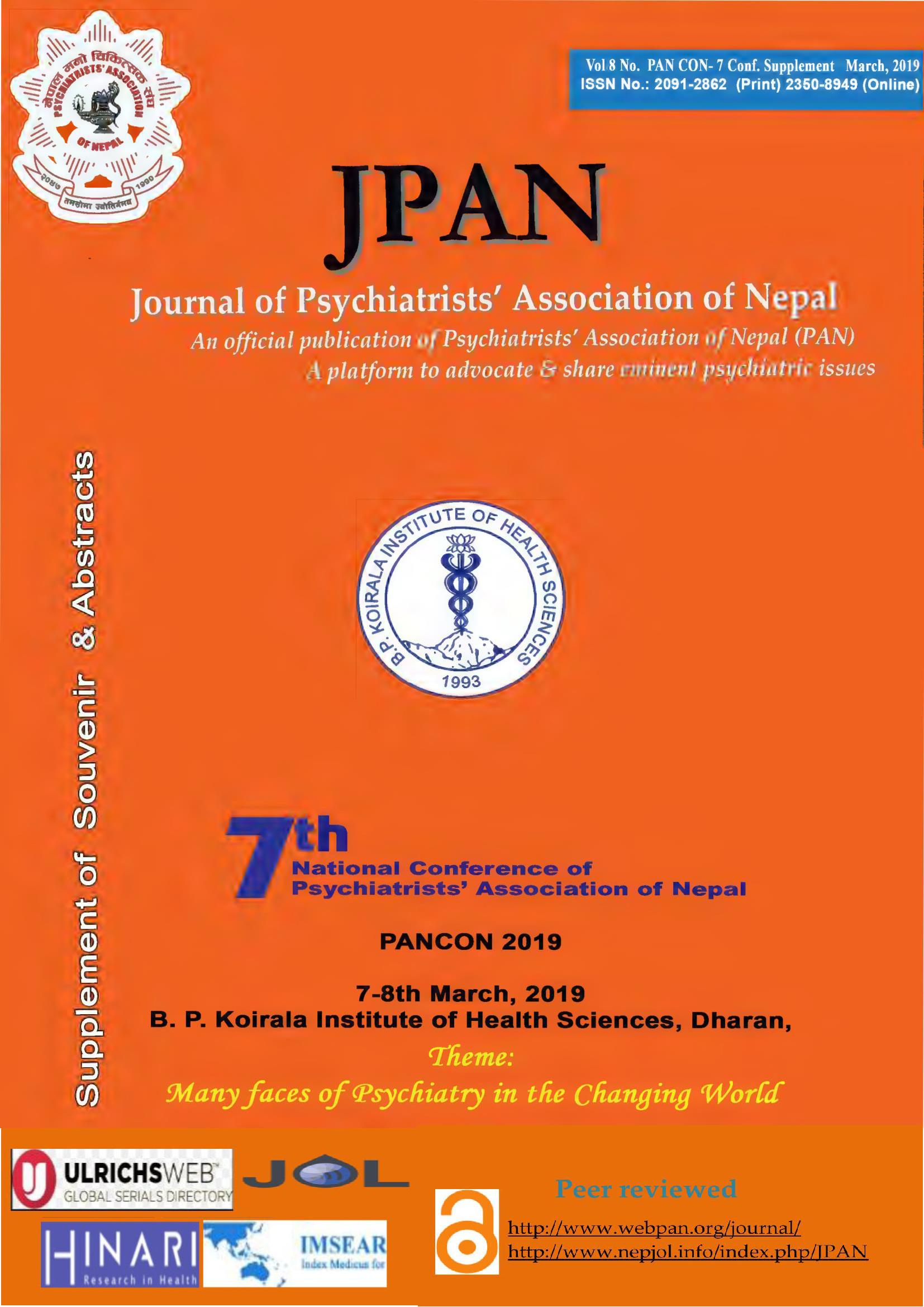 Cover JPAN Supp