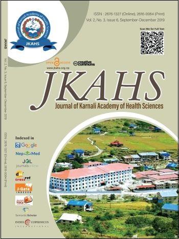 Cover JKAHS