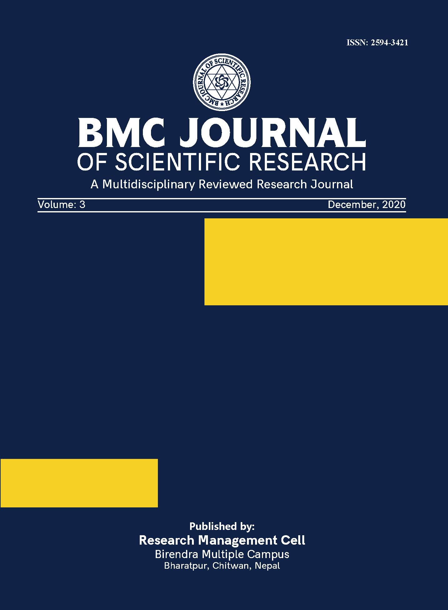 Cover BMCJSR