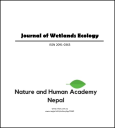 Cover of Journal of Wetlands Ecology