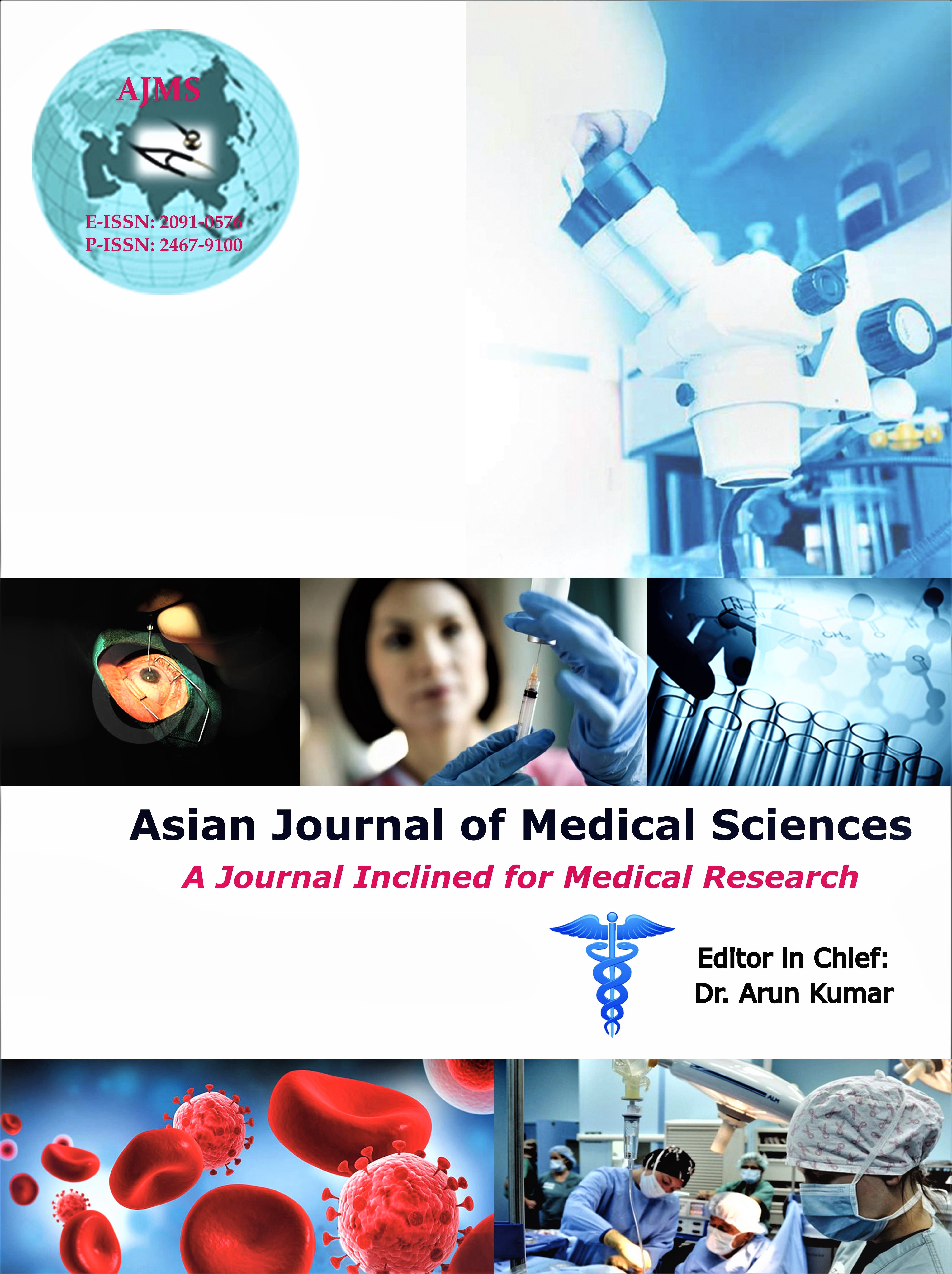 Asian Journal of Medical Sciences Coverpage